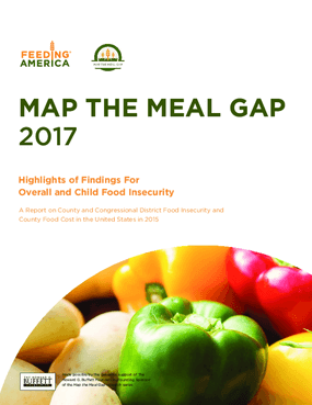Map the Meal Gap 2017: Highlights of Findings for Overall and Child Food Insecurity