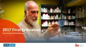 2017 Final Evaluation: Greek Diaspora Fellowship Program